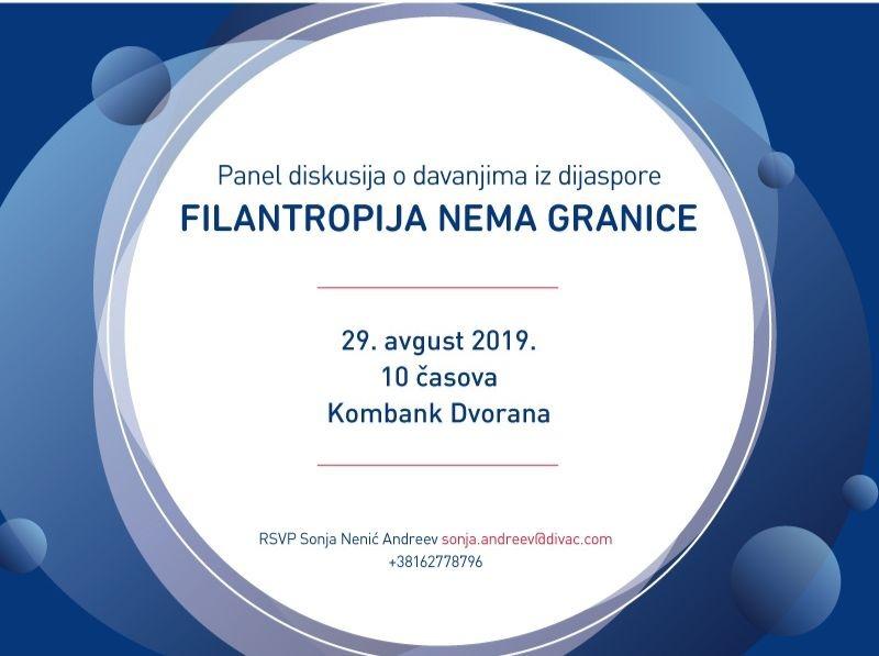 panel diskusija o davanjima iz dijaspore