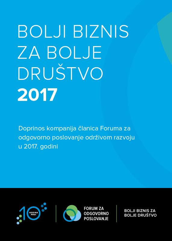 Godišnja anketa o ulaganju kompanija u društvo 2017