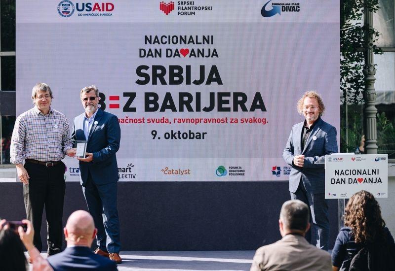 dobrocinitim nacionalni dan davanja obelezavanja botanicka basta mihajlo pupin pristupacnost srbija bez barijera