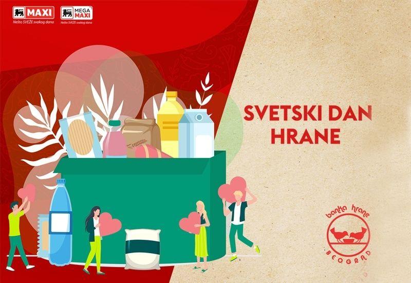 dobrocinitim svetski dan hrane humanitarna akcija banka hrane deleze maxi tempo